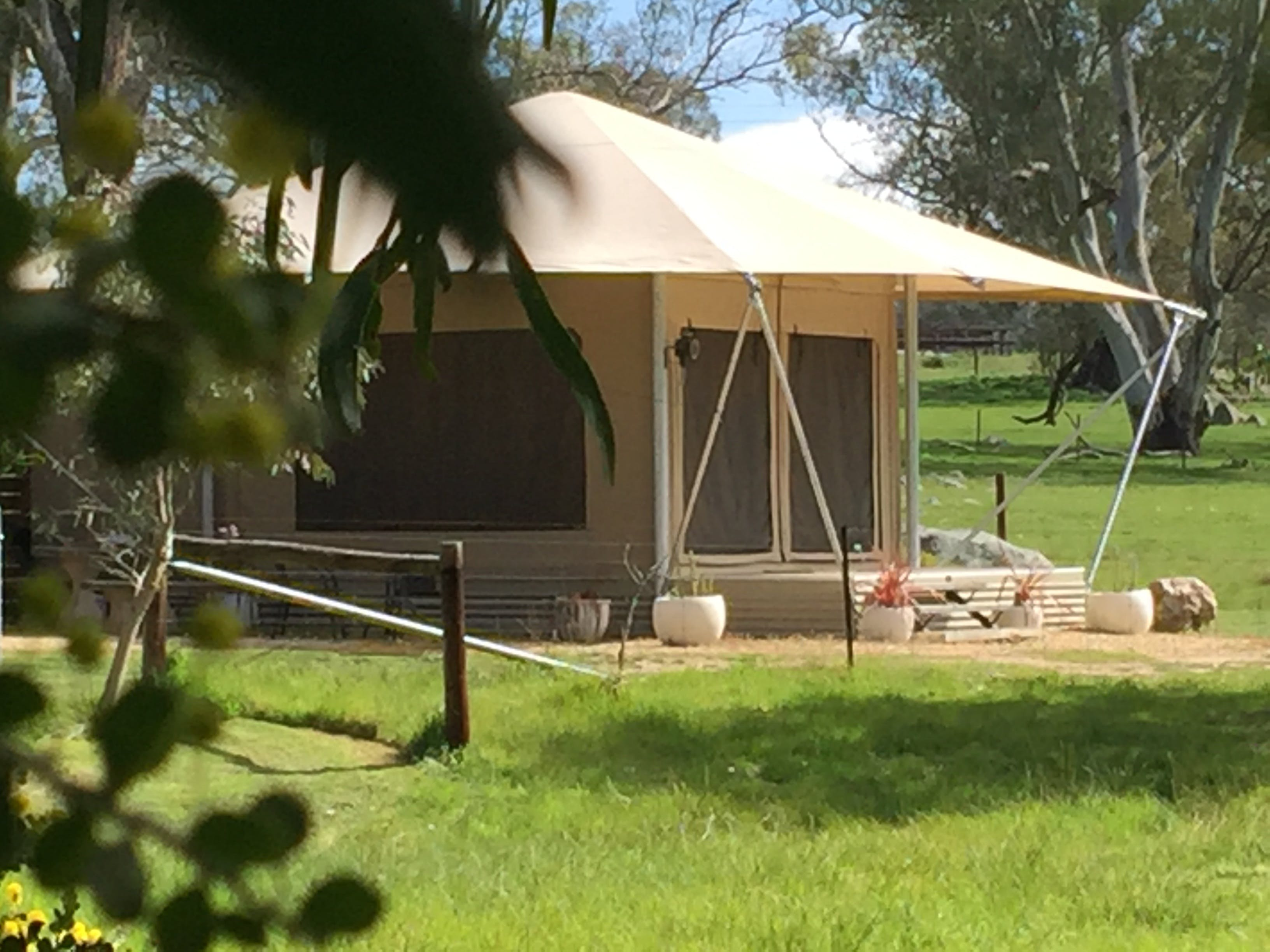 Boongarrie Luxury Tent - Inverell Accommodation