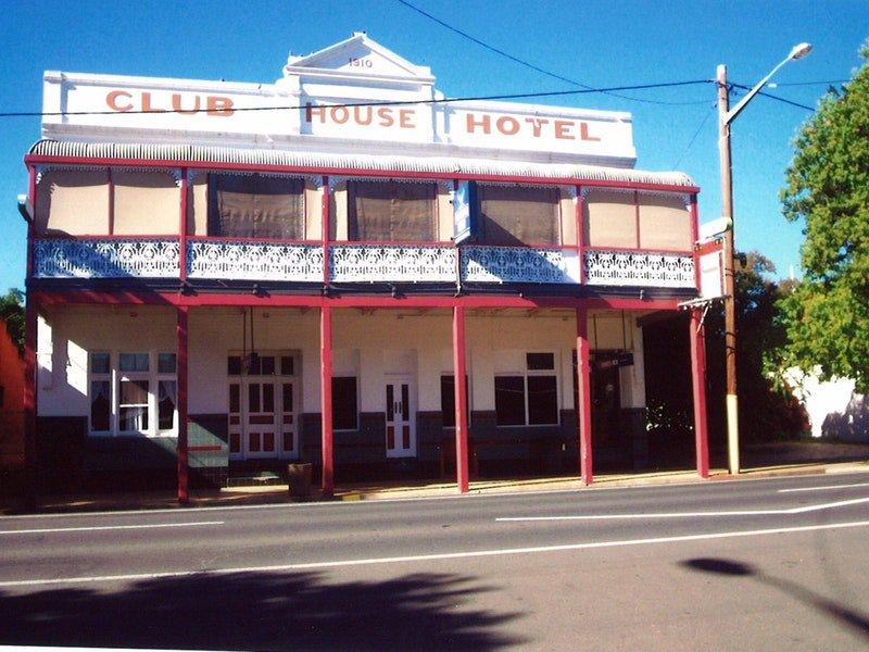 Club House Hotel - Inverell Accommodation