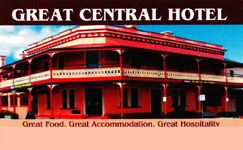 Great Central Hotel - Inverell Accommodation